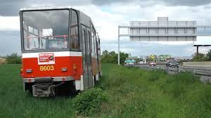 tramvaj u dálnice